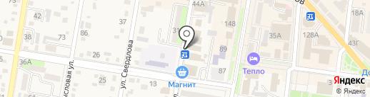 Отделение №19 Управления Федерального казначейства по Краснодарскому краю на карте Абинска