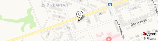 Фортуна на карте Нижней Крынки