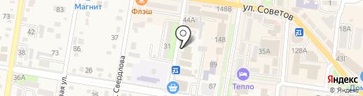 Инспекция Федеральной налоговой службы России по Абинскому району на карте Абинска