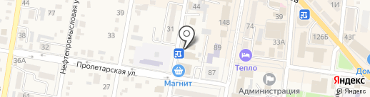 Центр занятости населения Абинского района на карте Абинска
