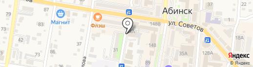 Сталкер на карте Абинска