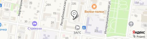 МаксимуМ на карте Абинска