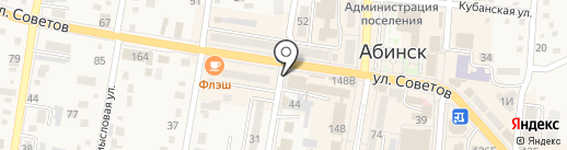 100% на карте Абинска