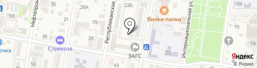 ПЕРСПЕКТИВА ПЛЮС на карте Абинска