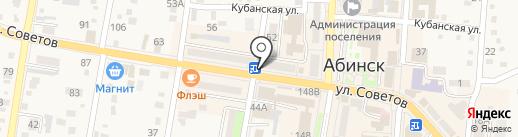 Qiwi на карте Абинска
