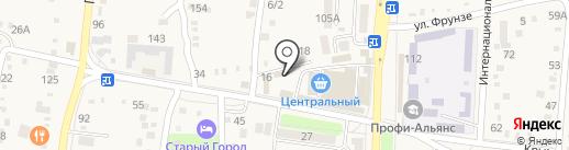 Л.о. на карте Абинска