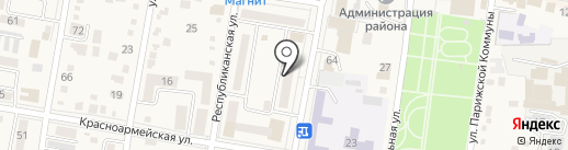 Архитектурно-планировочное бюро на карте Абинска