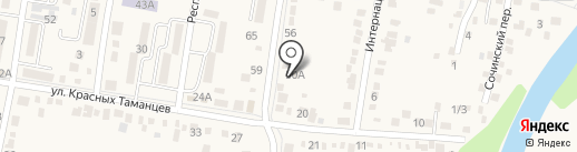 Отдел судебных приставов по г. Абинску на карте Абинска