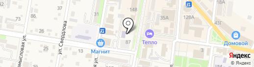 Детская музыкальная школа г. Абинска на карте Абинска