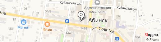 Техносвязь на карте Абинска