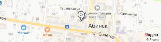 Медицинский диагностический центр на карте Абинска