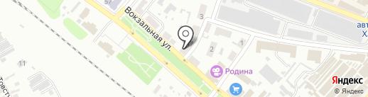 Колос, продуктовый магазин на карте Харцызска