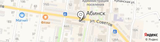 Лакомка на карте Абинска