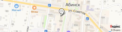 Ростелеком на карте Абинска