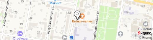 АльфаСтрахование-ОМС на карте Абинска
