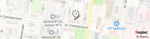 Тонус на карте Узловой