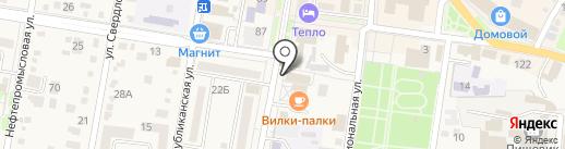 L-silver на карте Абинска