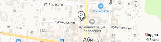 Ключ сервис на карте Абинска