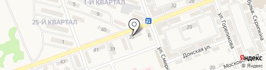 Элит на карте Нижней Крынки