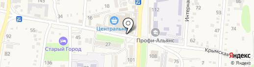 Tiande на карте Абинска
