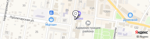 Интерьерная фотостудия Екатерины Хан на карте Абинска