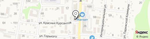 Уют на карте Абинска