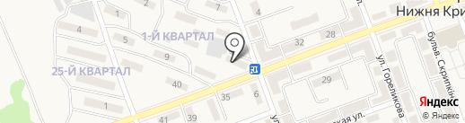 Натали на карте Нижней Крынки