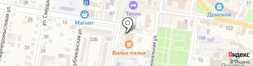 Fresh Fit на карте Абинска
