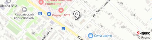 Легенда на карте Харцызска