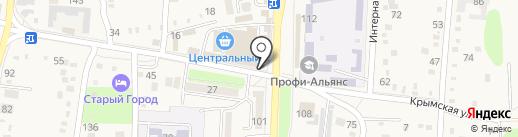 Бургер-клуб на карте Абинска