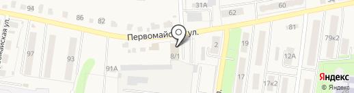 Вираж на карте Узловой