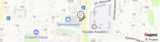 Телемастерская на карте Абинска