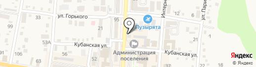 Салон чистки пухо-перьевых изделий на карте Абинска