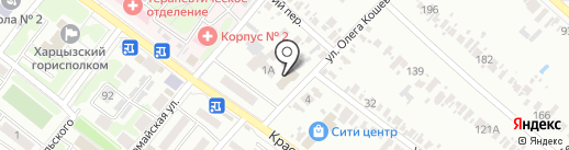 Комфорт, магазин на карте Харцызска