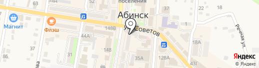 Интеллект на карте Абинска