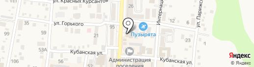 МИД на карте Абинска