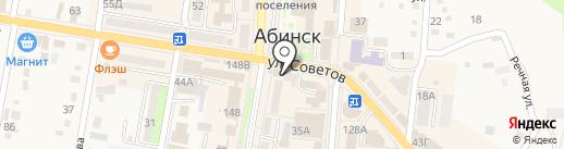 Dm на карте Абинска