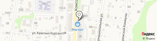 Р2 на карте Абинска