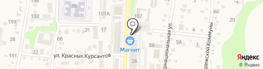 ВИК на карте Абинска