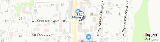 Алкотека на карте Абинска