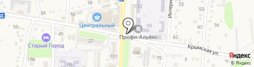 Роспечать на карте Абинска