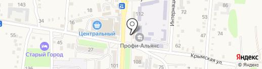 Александра на карте Абинска