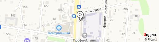 Агрокомплекс на карте Абинска