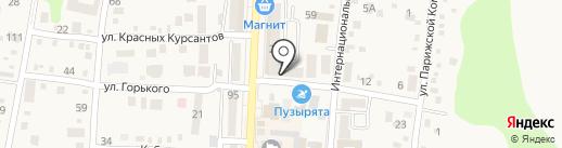 ОранжВилль на карте Абинска