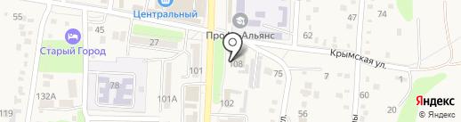 Абинский районный суд на карте Абинска