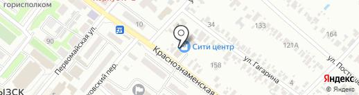 Витрина Донбасса на карте Харцызска