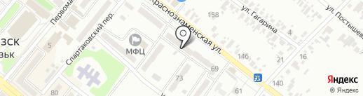 Территориальный центр социального обслуживания (предоставление социальных услуг) Харцызского городского совета на карте Харцызска