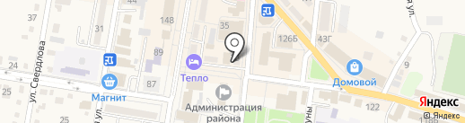 Фунтик на карте Абинска