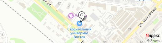 Восток на карте Харцызска