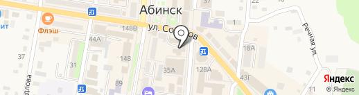 Следственный отдел по Абинскому району на карте Абинска